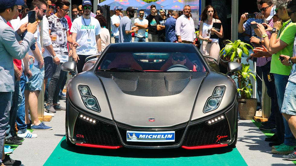 6to6 Barcelona Motordays GTA Spano elegancia