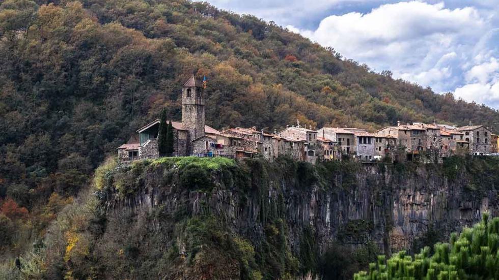 Castellfollit de la Roca, Gerona.