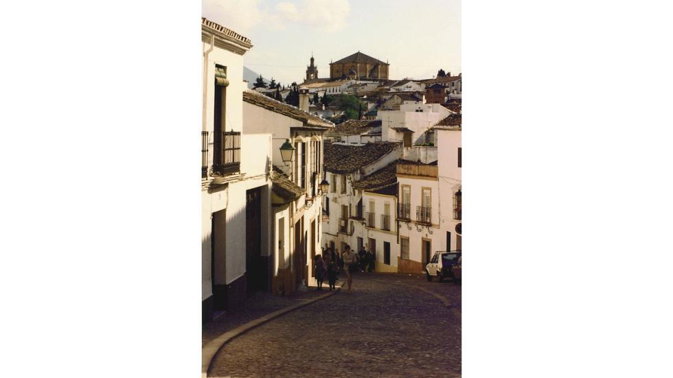 Una calle de Ronda, Málaga.