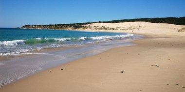 Playa de Valdevaqueros, en Cádiz.