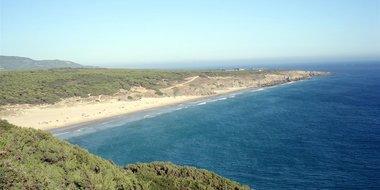 Playa de Zahara de los Atunes, en Cádiz