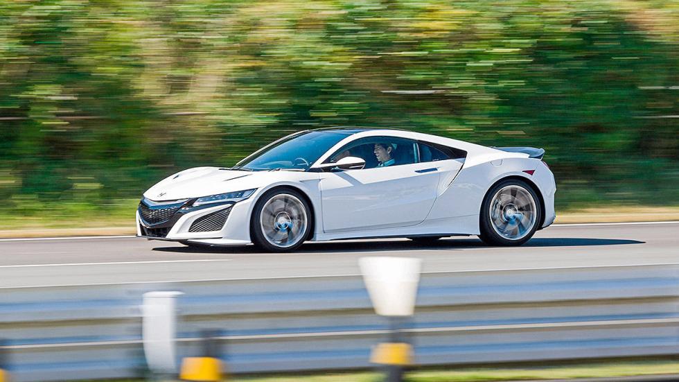 Prueba: Honda NSX 2015 barrido