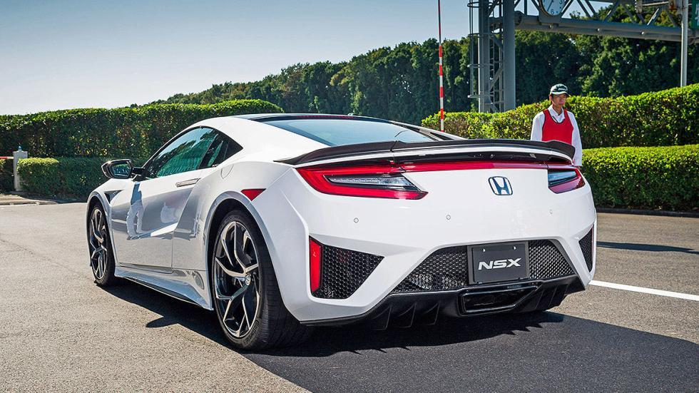 Prueba: Honda NSX 2015 zaga