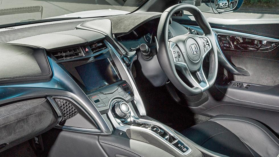 Prueba: Honda NSX 2015 interior