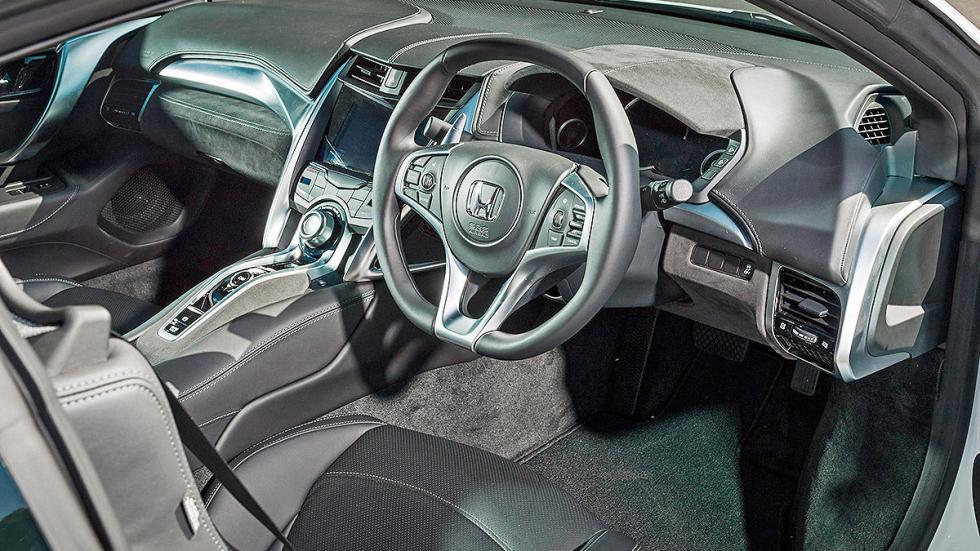 Prueba: Honda NSX 2015 volante