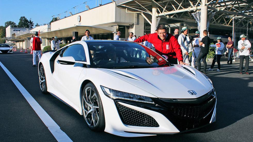 Prueba: Honda NSX 2015 3 cuartos redactor