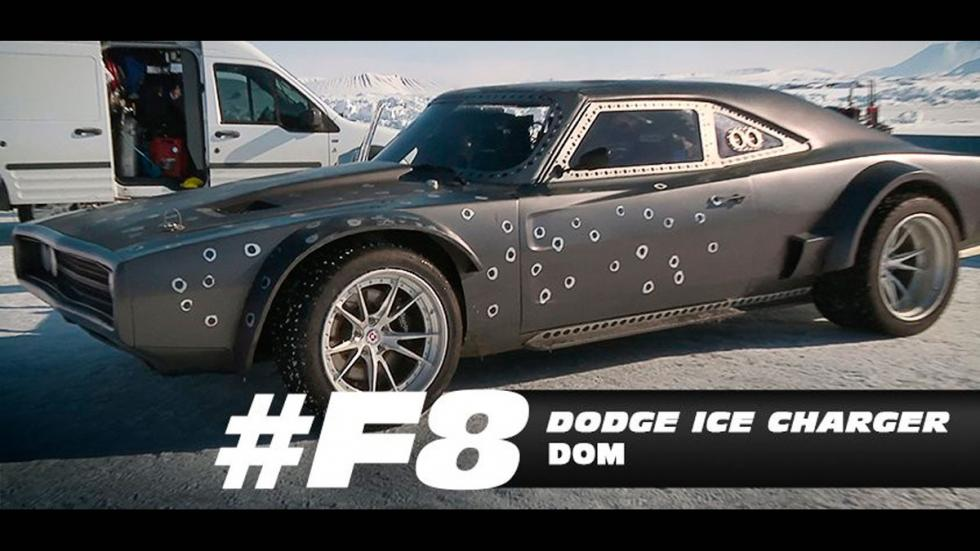Coches hielo fast furious 8 charger