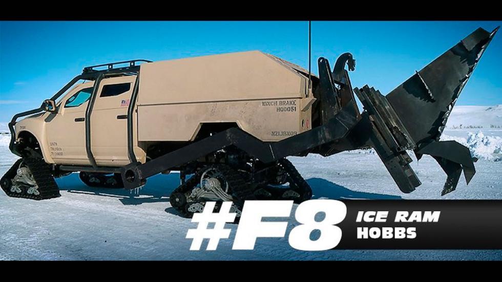 Coches hielo fast furious 8 hobbs