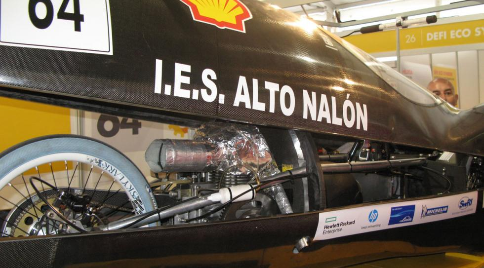 prototipo de diésel del I.E.S. Alto Nalon