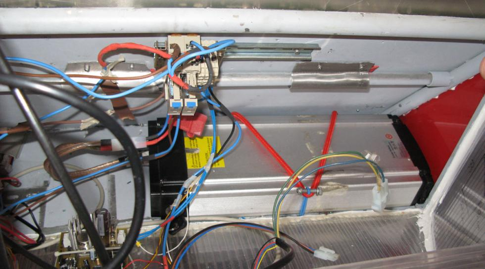 batería prototipo eléctrico es como la de una bici