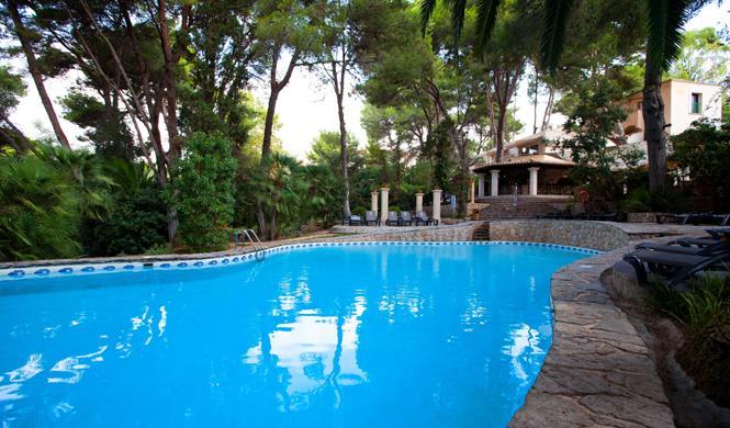 mejores hoteles espana lago garden