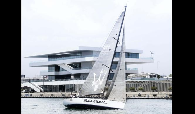 barco maserati debuta valencia reina