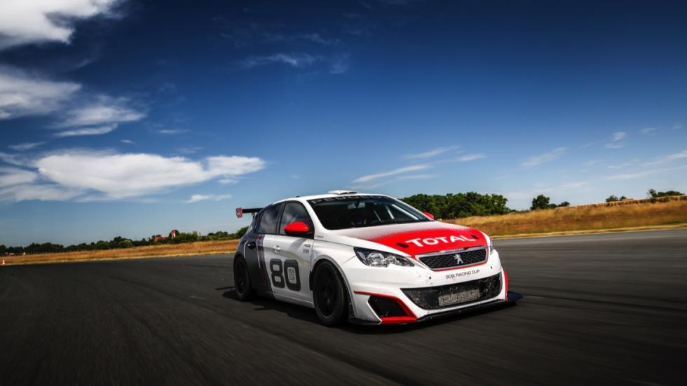 Fotos prueba Peugeot 308 Racing Cup