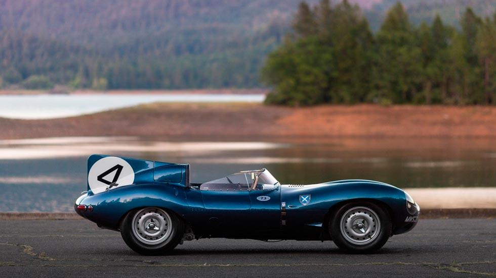 Jaguar D-Type 1955 lateral