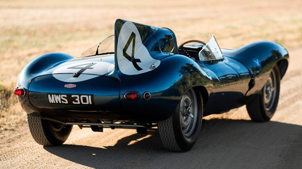 Jaguar D-Type 1955 trasera