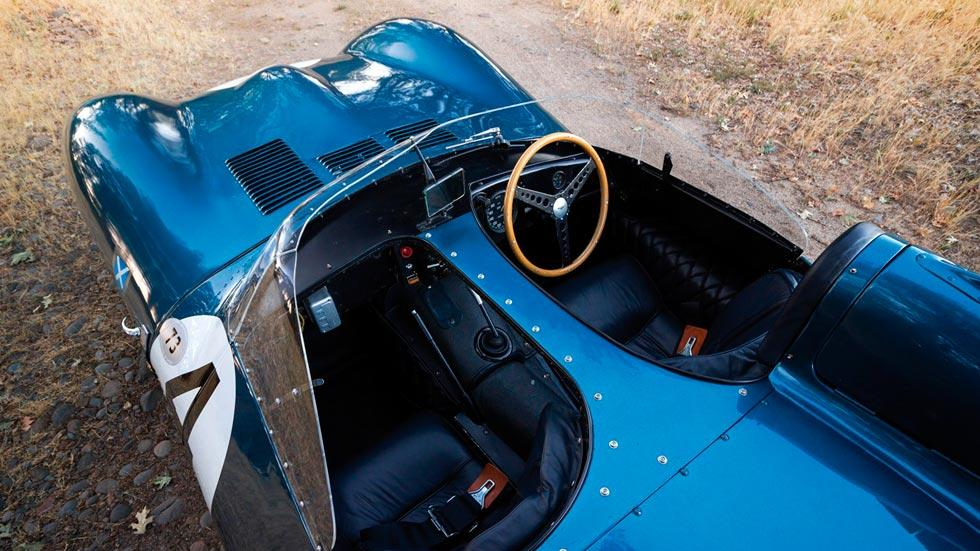 Jaguar D-Type 1955 interior cenital