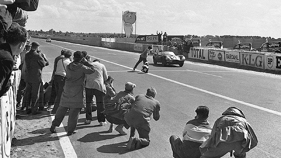 Jaguar D-Type 1956 Le Mans