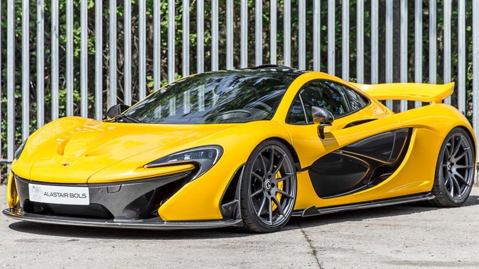 McLaren p1 nuevo venta amarillo