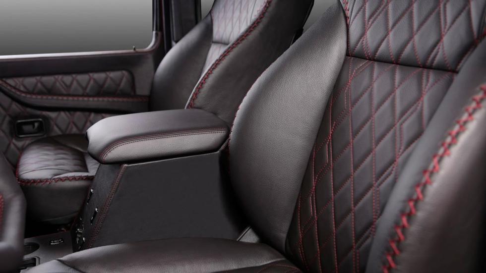 Mercedes Clase G Carbon Motors asientos