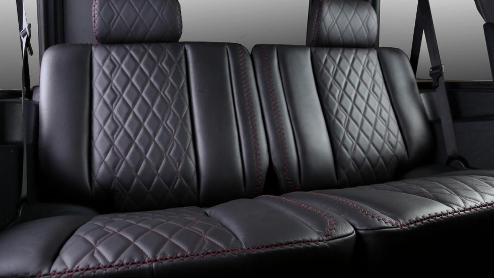 Mercedes Clase G Carbon Motors plazas traseras