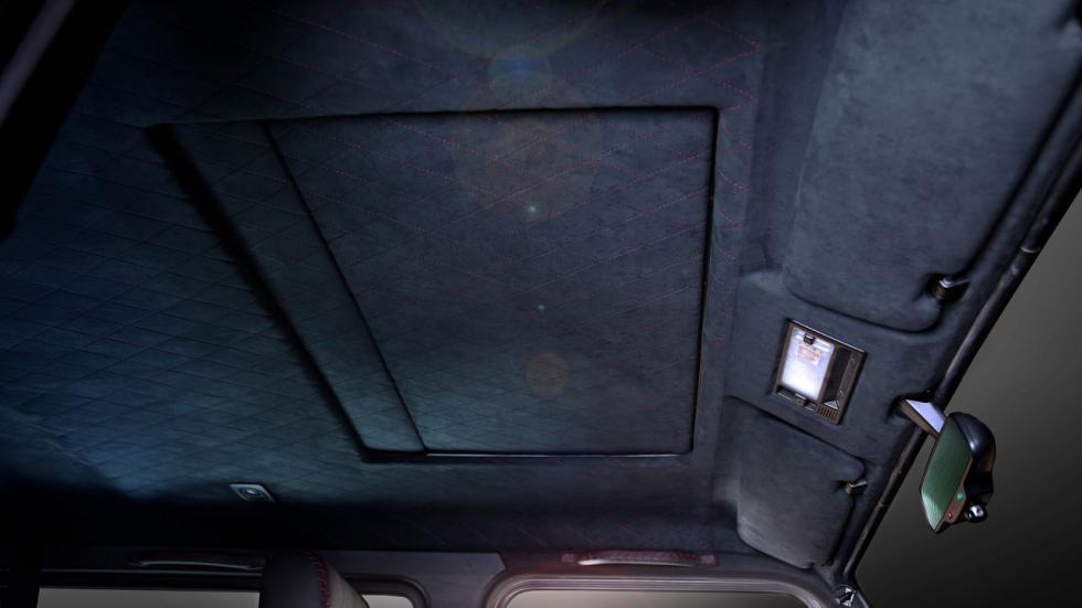 Mercedes Clase G Carbon Motors techo alcantara