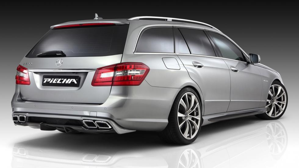 Mercedes Clase E Piecha Design estate trasera