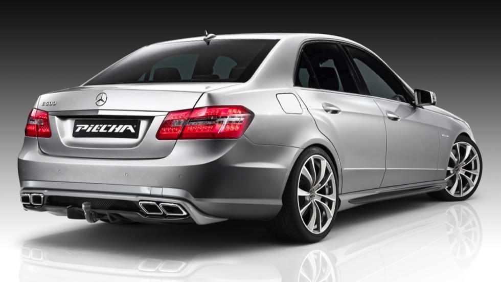 Mercedes Clase E Piecha Design trasera