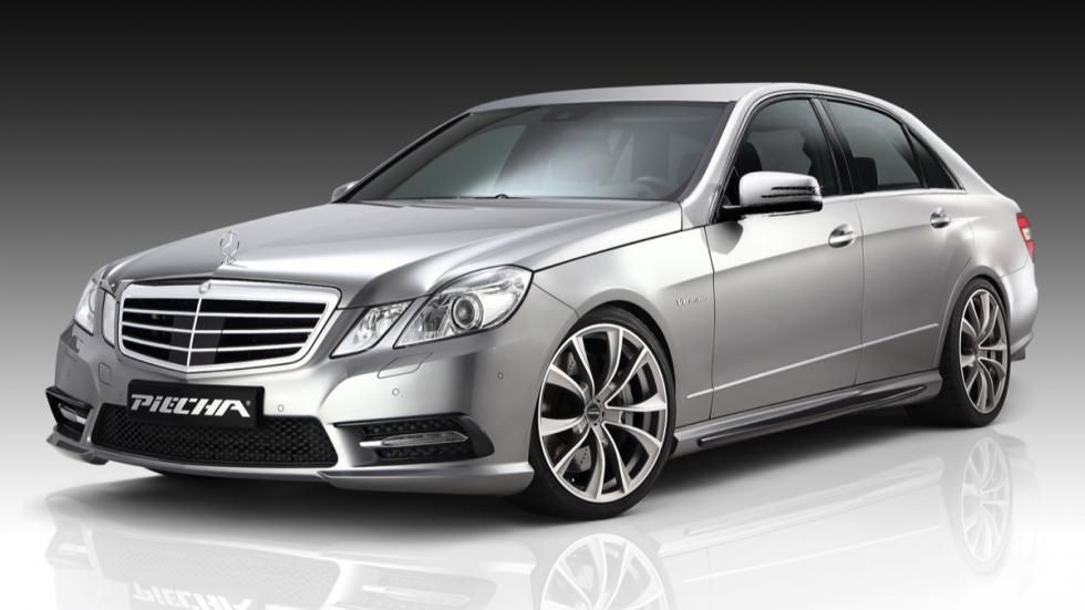Mercedes Clase E Piecha Design frontal