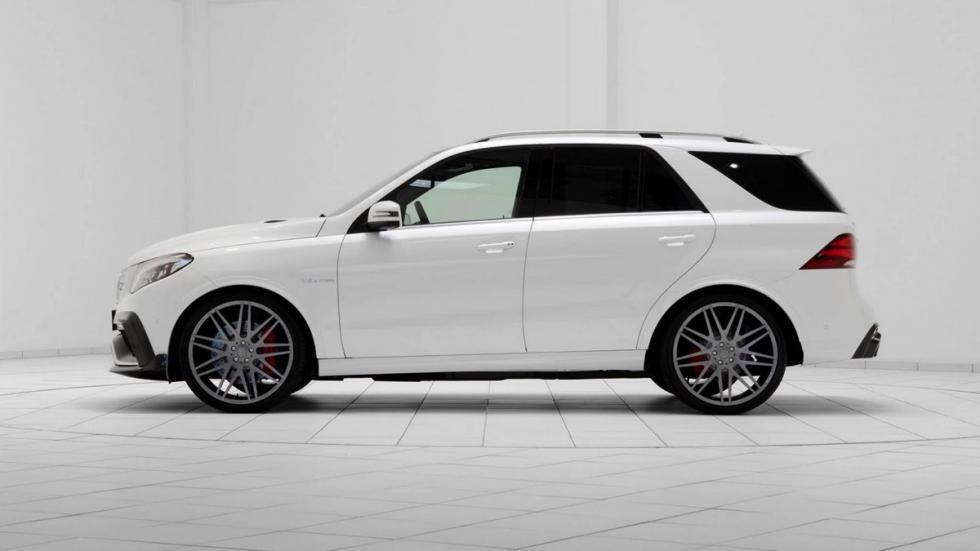Mercedes GLE 63 AMG Brabus lateral