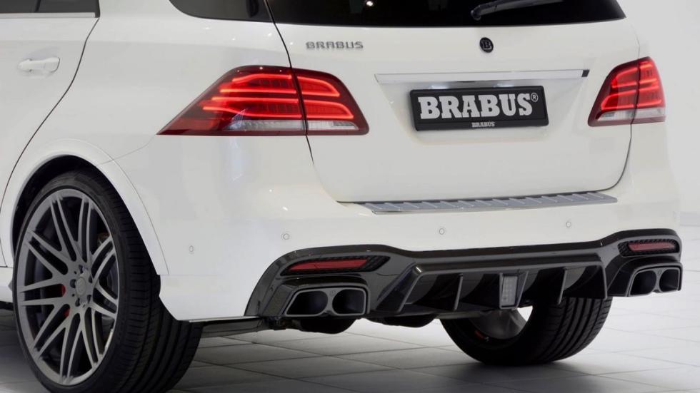 Mercedes GLE 63 AMG Brabus escape