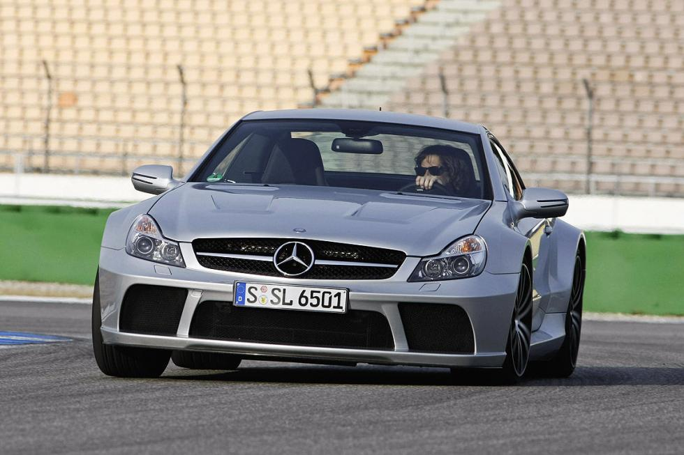 Mercedes SL AMG Black Series