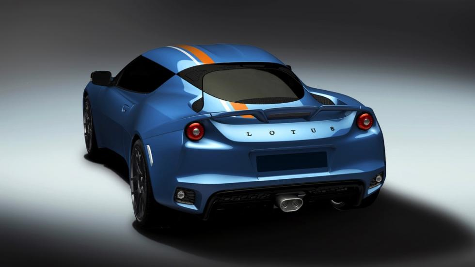 Lotus Evora 400 Exclusive Edition trasera