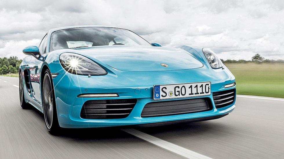 Prueba: Porsche 718 Cayman 2016 morro