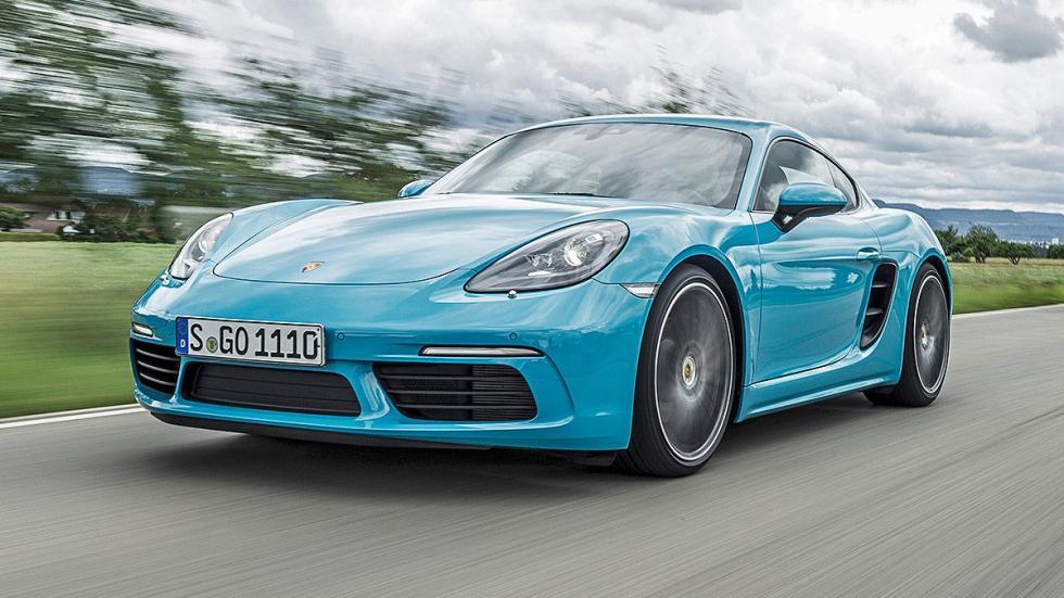 Prueba: Porsche 718 Cayman 2016 faros lateral dinámica