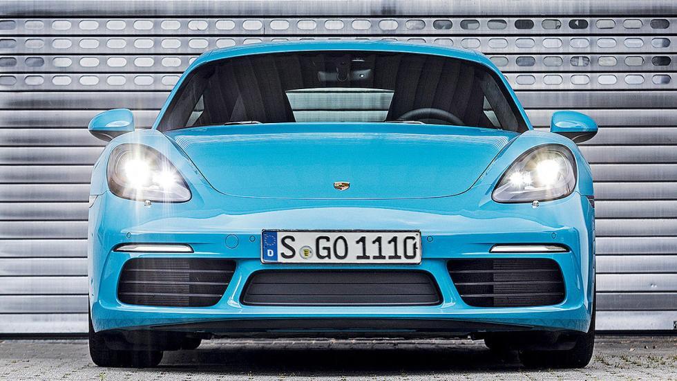 Prueba: Porsche 718 Cayman 2016 faros morro