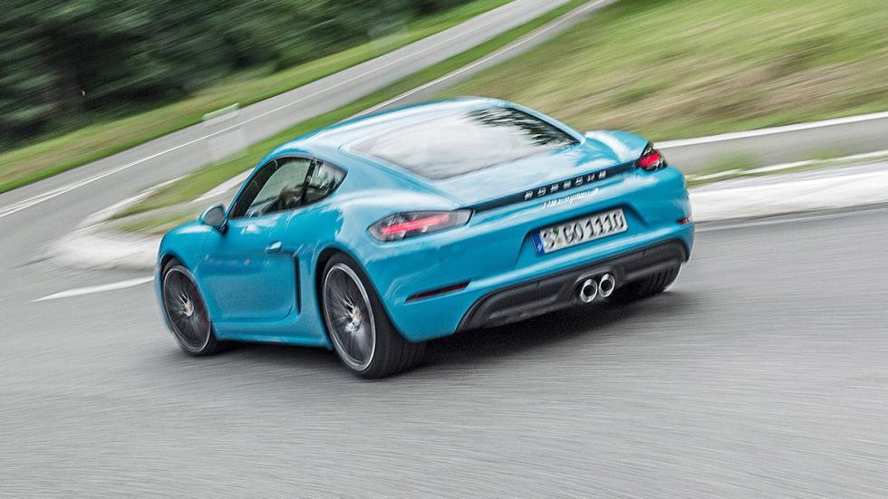 Prueba: Porsche 718 Cayman 2016 faros zaga