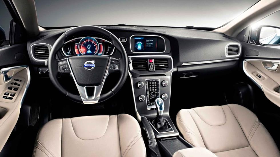 volvo v40 2017 interior