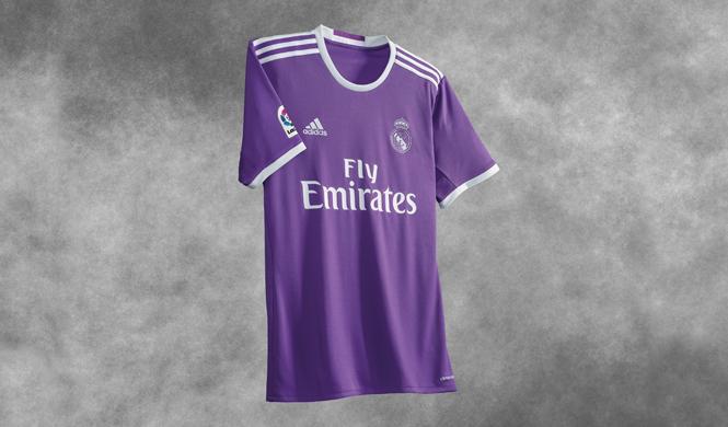 nueva camiseta real madrid segunda