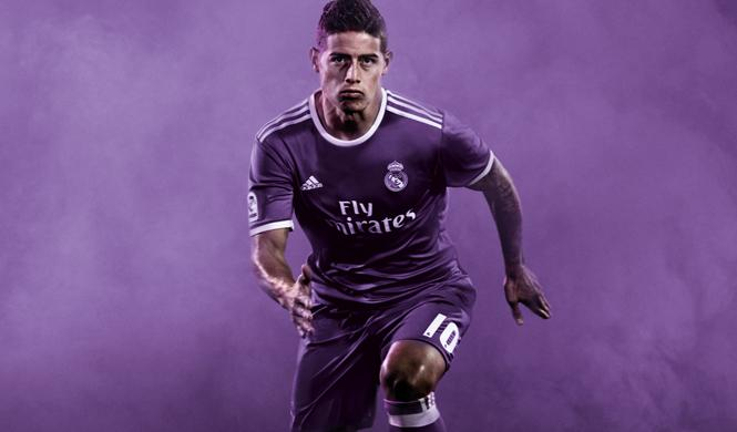 nueva camiseta real madrid james