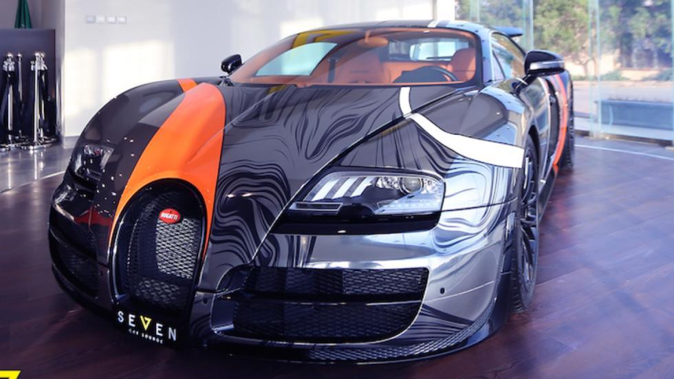 Bugatti Veyron Super Sport frontal