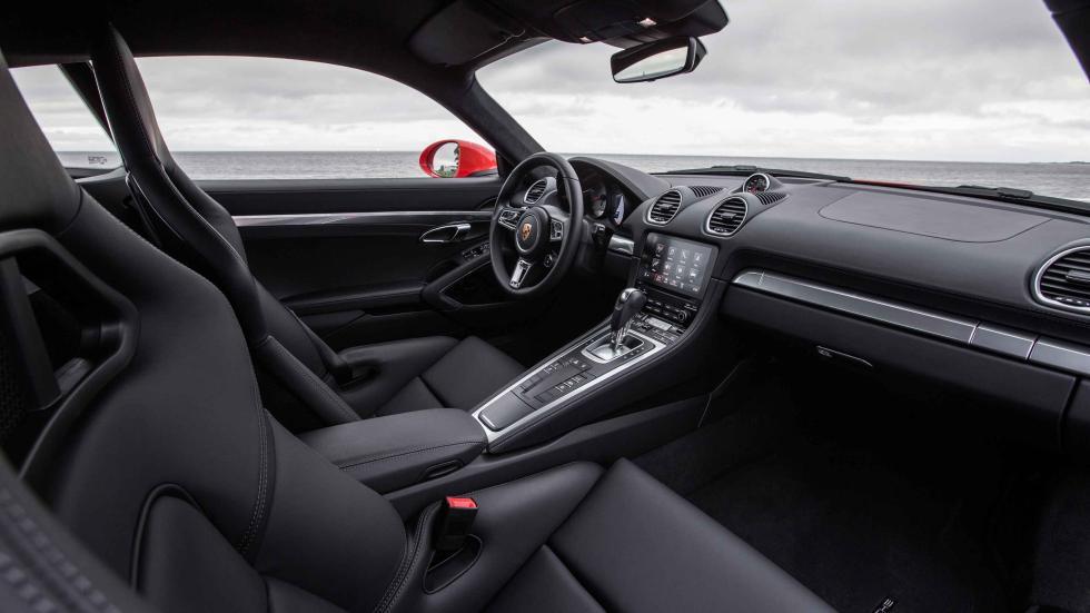 Prueba: Porsche 718 Cayman 2016 bacquets