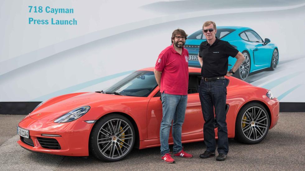 Prueba: Porsche 718 Cayman 2016 Walter Röhrl