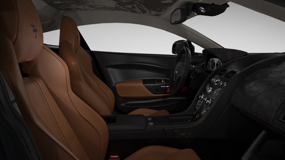 Aston Martin V12 Vantage S Spitfire 80 interior
