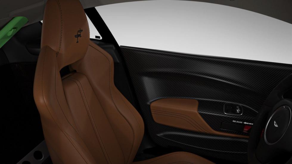 Aston Martin V12 Vantage S Spitfire 80 asiento