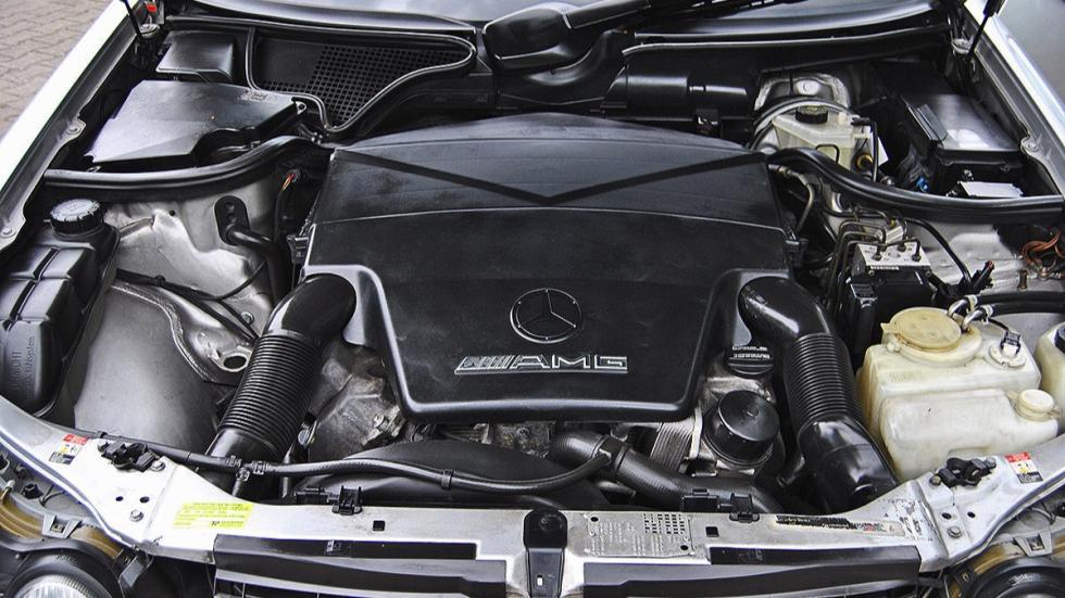 Mercedes E55 AMG de Michael Schumacher motor