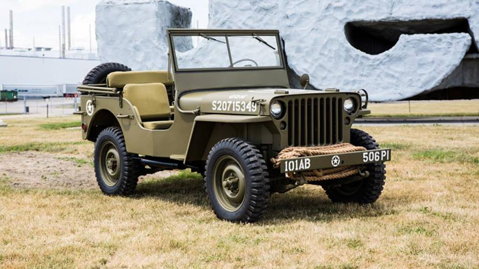 Jeep Wrangler 75th Salute Willys MB