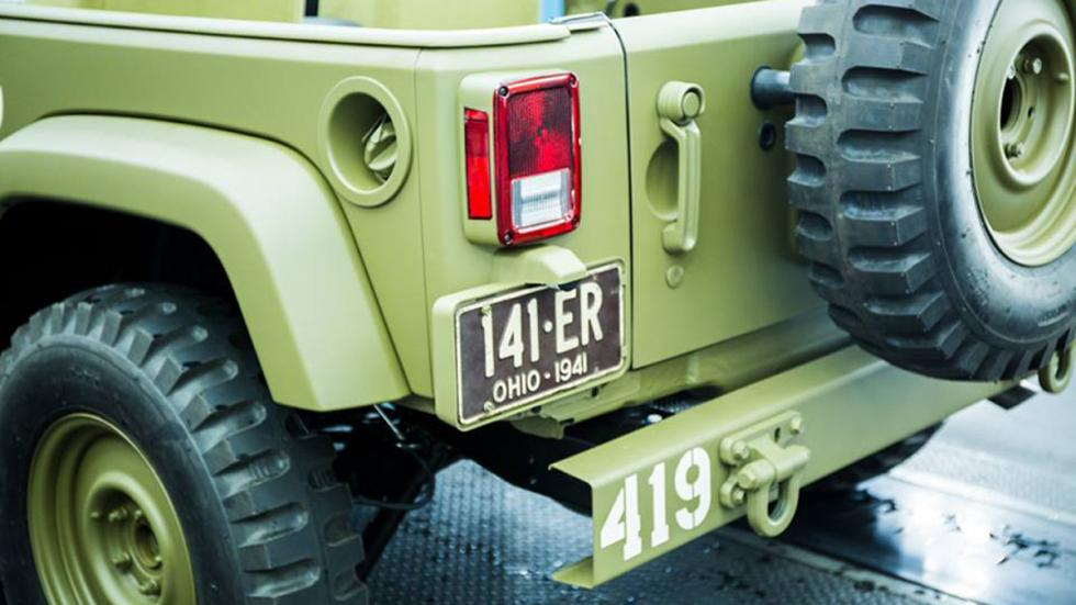 Jeep Wrangler 75th Salute zaga