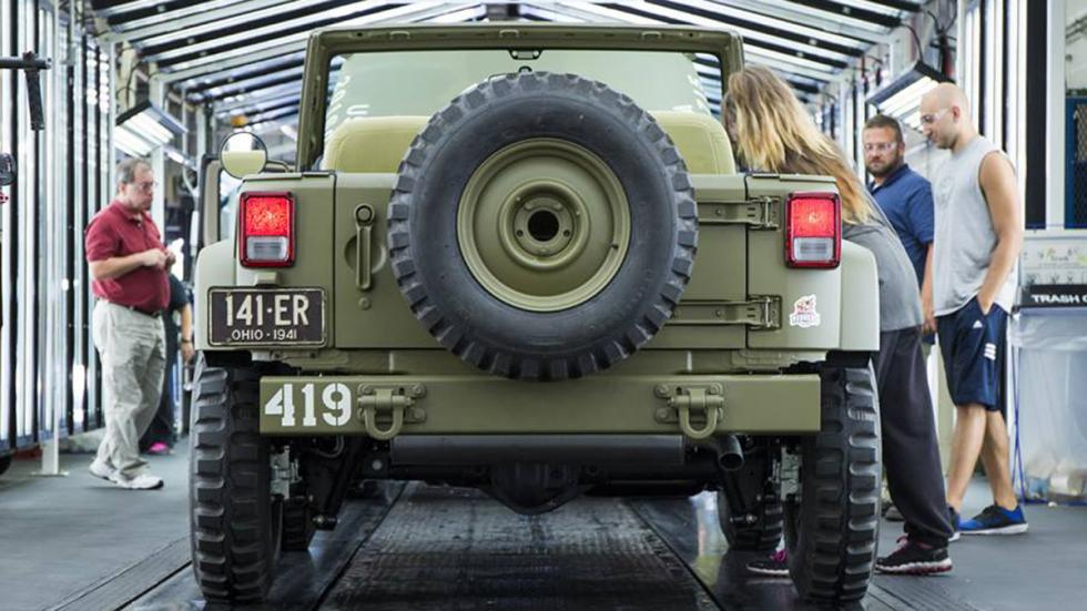 Jeep Wrangler 75th Salute trasera