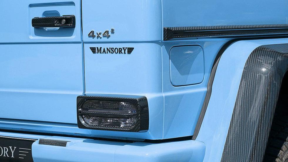 Mansory G500 4x4 zaga