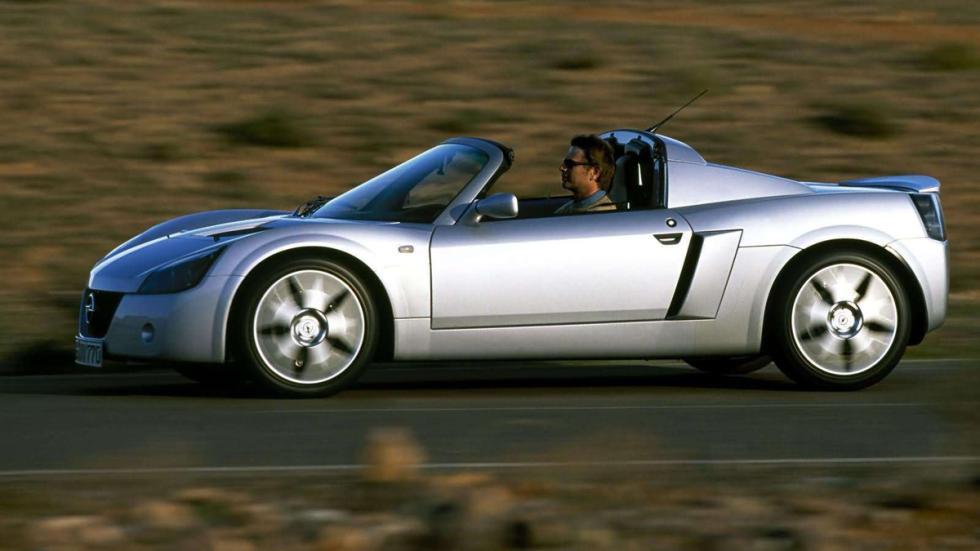 Opel Speedster perfil